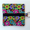 Groovy Black Floral Purse