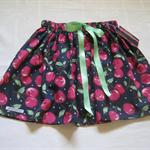 Girl's Skirt Size 6 Elasticised Waist Bow Trim