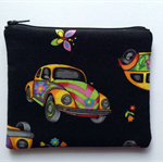 Psychedelic VW Beetle Purse