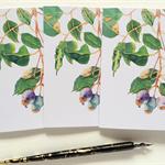 Set of 3 Gum Tree cards & 3 envelopes