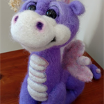 Purple pixie dragon