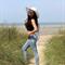 La Dolce Vita Beach Hat | Sequin Message Beach Hat