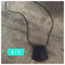 Silicone Nursing Necklace • Black Faceted ~ BPA Free • Non-toxic • Washable