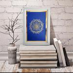 Blue Gold Mandala
