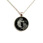 """""""Cats 004""""   Choose silver or bronze   The $10 Pendant"""