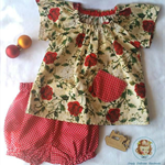Baby girls 2 piece Christmas set - to fit 12 months