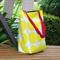 Yellow Spot Canvas Tote Bag