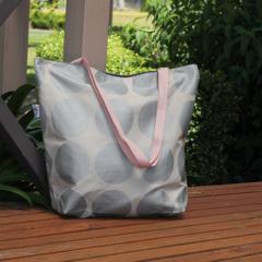 Silver Spot Canvas Tote Bag