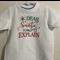 Kids Xmas Tshirt - Dear Santa, I can Explain. Sz 1