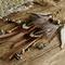 """Bohemian """"Dreamy Indie"""" Hemp Tribal Ethnic Hippie Dangle Leather Tassel Earrings"""