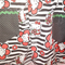 Girls apron size 7 - 8 yrs with 'Hello Kitty' skirt and  black/white waistband