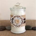 Handmade Soy Candles with pure essential oils