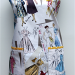 Love the 50's one piece apron
