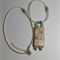 Floral Tile Beaded Necklace