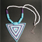 Triangle Beaded Necklace