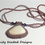 Sea Shell and Beaded Necklace
