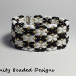 Butterflies Beaded Bracelet
