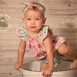 ANGEL SWING SET - 'Wash Day', Swing Top, Frilly Pant, Twist Top, Ruffles, Girl