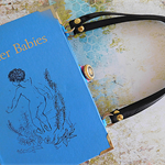 Water Babies - Charles Kingsley - Upcycled book - Bag made from a book