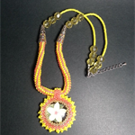 Summer Flower Beaded Necklace