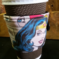 Coffee cup wrap/ cosy