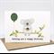 Birthday Card Male or Female - Koala with Balloon and Cupcake - HBF174