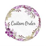 Custom order for Olivia