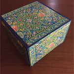 Handcrafted jewellery box, Jewellery storage, Wooden box, Jewellery, stand