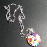 Spotted Shell Pendant Necklace