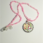 Flowers on a Tree Pendant Necklace