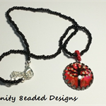 Cherry Blossom Tree Pendant Necklace