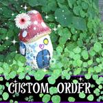 CUSTOM ORDER for Steve, Clown Peg Doll, Hand-painted, ornament clothespin OOAK