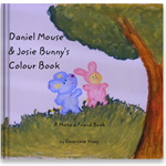 Daniel Mouse & Josie Bunny's Colour Book: