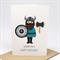 Birthday Card Boy - Viking - HBC245