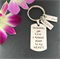 Personalised Godfather Gift - Personalised Godparent Gift - Godfather Keyring