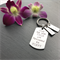 Personalised Keyring for Dad - Gift for Dad - Hand Stamped Keyring