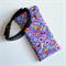 Padded Sunglasses Pouch in Tropical Fabric