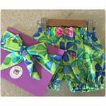 GORGEOUS GUSSIES SET 'Aloha', Girl, Bloomers, Headwrap