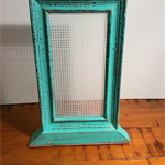 Earring storage, Stud earring stand, jewellery frame, turquoise frame