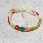 Pretty Button Bracelet in Bright colours