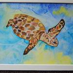 Sea Turtle (watercolour)