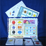 'Colour, Shape & Size' Fun Learning Pack