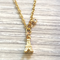 Gold paris bracelet