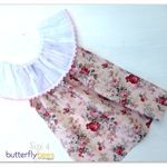 Ruffle Neck Dress Size 4