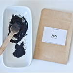 HIS activated charcoal  facial mask for men