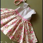 Tea Party Dress Size 5