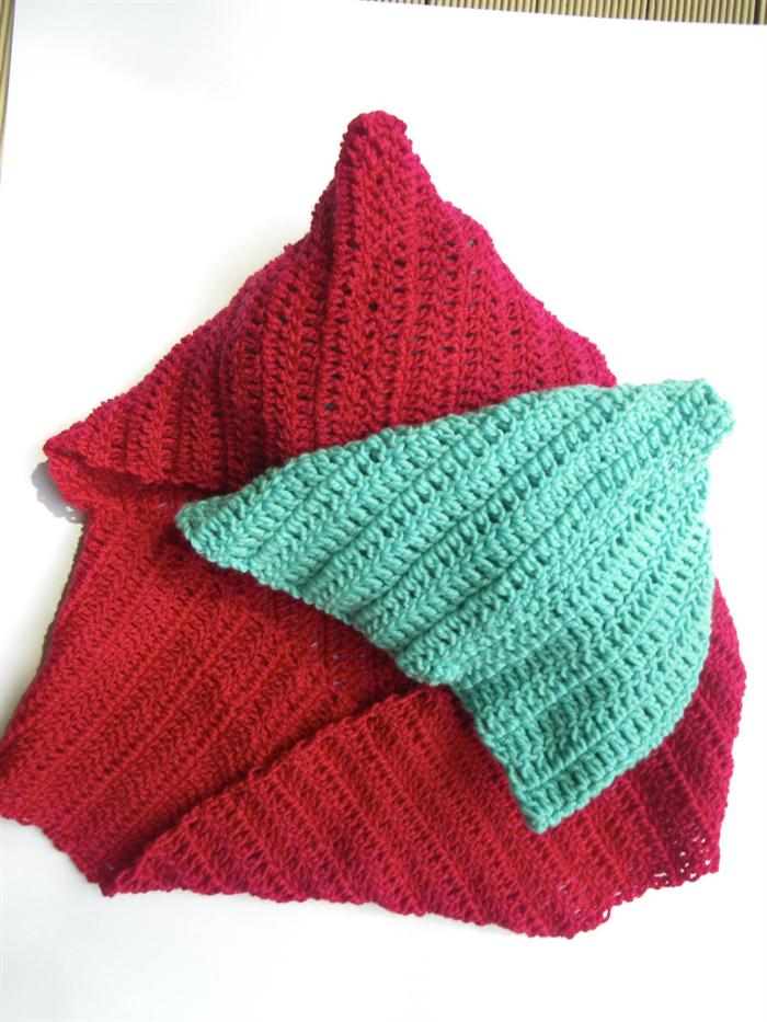 Pdf crochet pattern infinity cowl möbius scarves scoodie hooded ...