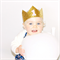 Birthday Glitter Crown - Custom Letter - Princess Crown - Personalised