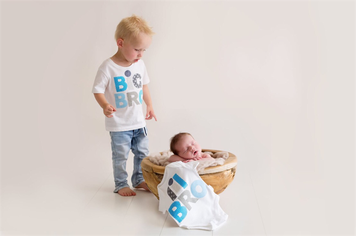 82102ac7a Big Brother Little Brother Birth Announcement Tshirt Onesie Matching Set