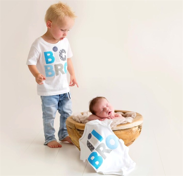 Big Brother Little Brother Birth Announcement Tshirt Onesie – Big Brother Birth Announcements